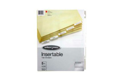 Insertable Tab Dividers