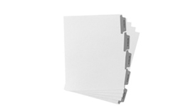 Preprinted Index Dividers