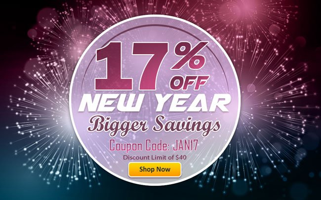 17% Sitewide Savings!