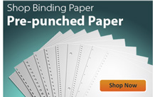Pre-Punched Binding Paper