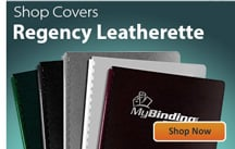 Regency Leatherette Binding Covers