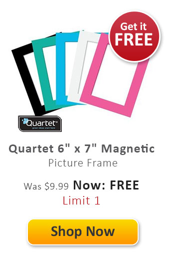 "Quartet 6"" x 7"" Magnetic Picture Frame"