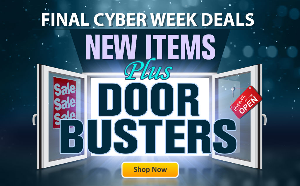 Last Day for Cyber Week Deals!