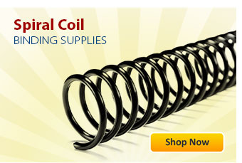 Spiral Coil Binding Supplies