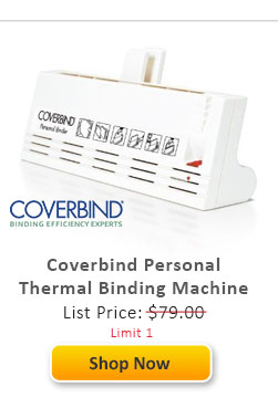 Coverbind Personal Thermal Binding Machine
