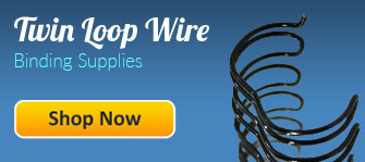 Twin Loop Wire Binding Supplies
