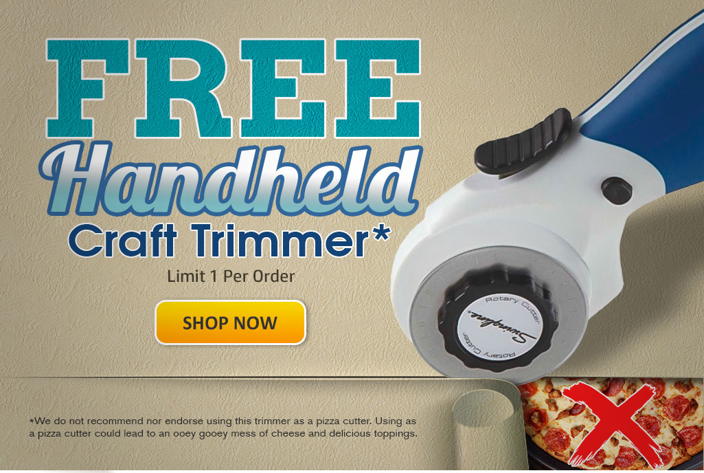 Free Handheld Craft Trimmer!