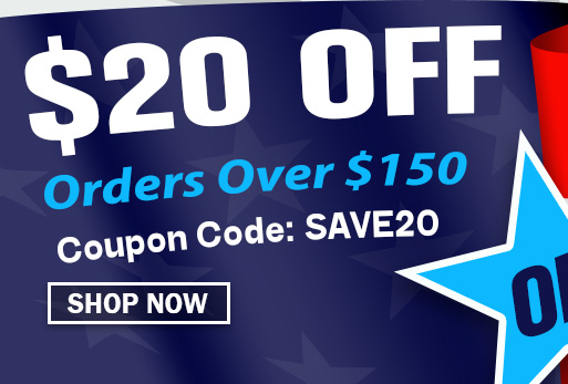 $20 off Orders Over $150
