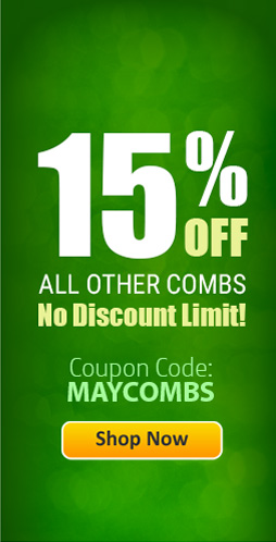 Save 15% OFF Plastic Binding Combs!