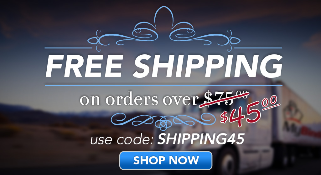 Free Shipping on Order $45 or More