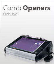 Binding Machines Comb Openers