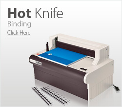 Hot Knife binding machine