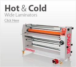 Hot and Cold Wide Format Laminators