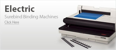 Electric GBC Surebind Binding Machines
