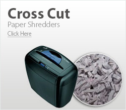 Cross Cut Shredders