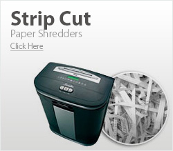 Strip Cut Shredders