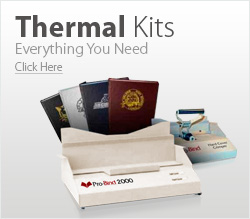 Thermal Binding Kits
