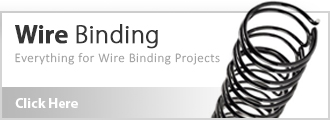 Wire Binding Equipment and Supplies
